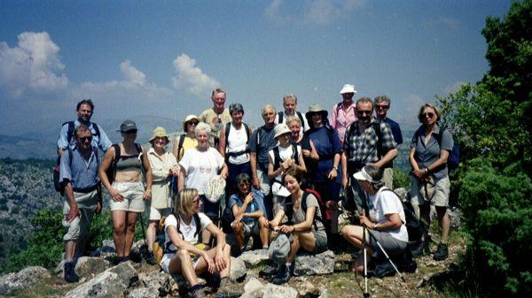 Baou-Gipfelfoto